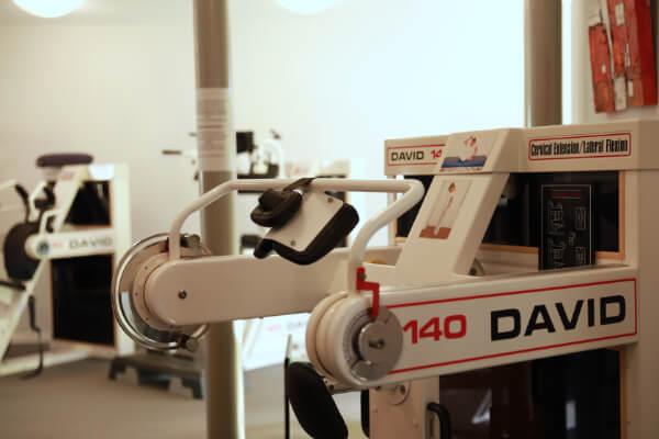 Trainingsgeräte David Back Clinic - Forum Gesundheit - Völklingen