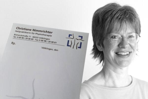Christiane Nimmrichter - Heilpraktikerin für Physiotherapie